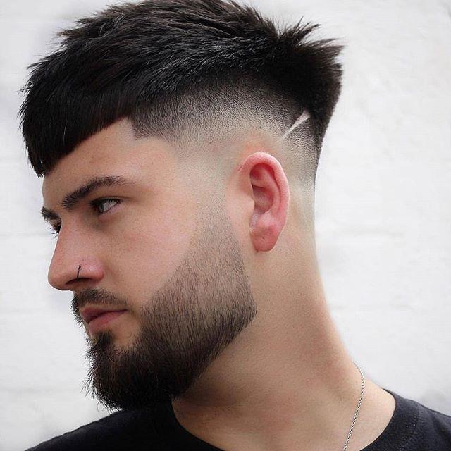 männer frisuren kurz mit bart