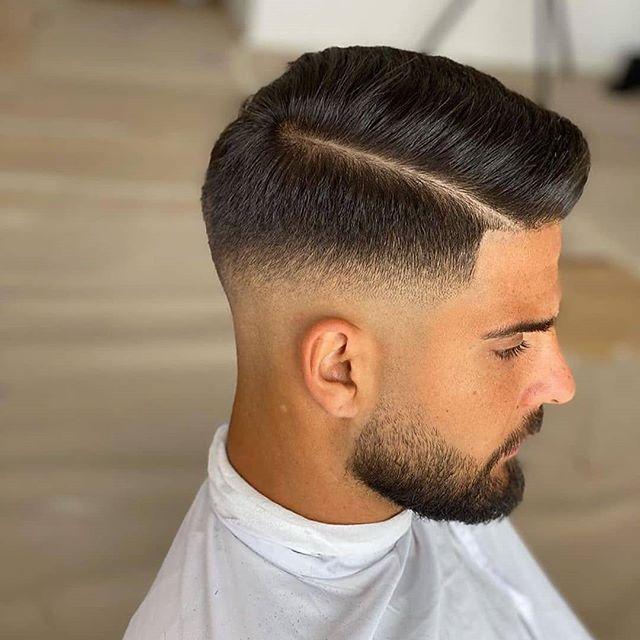 männer frisuren kurz scheitel