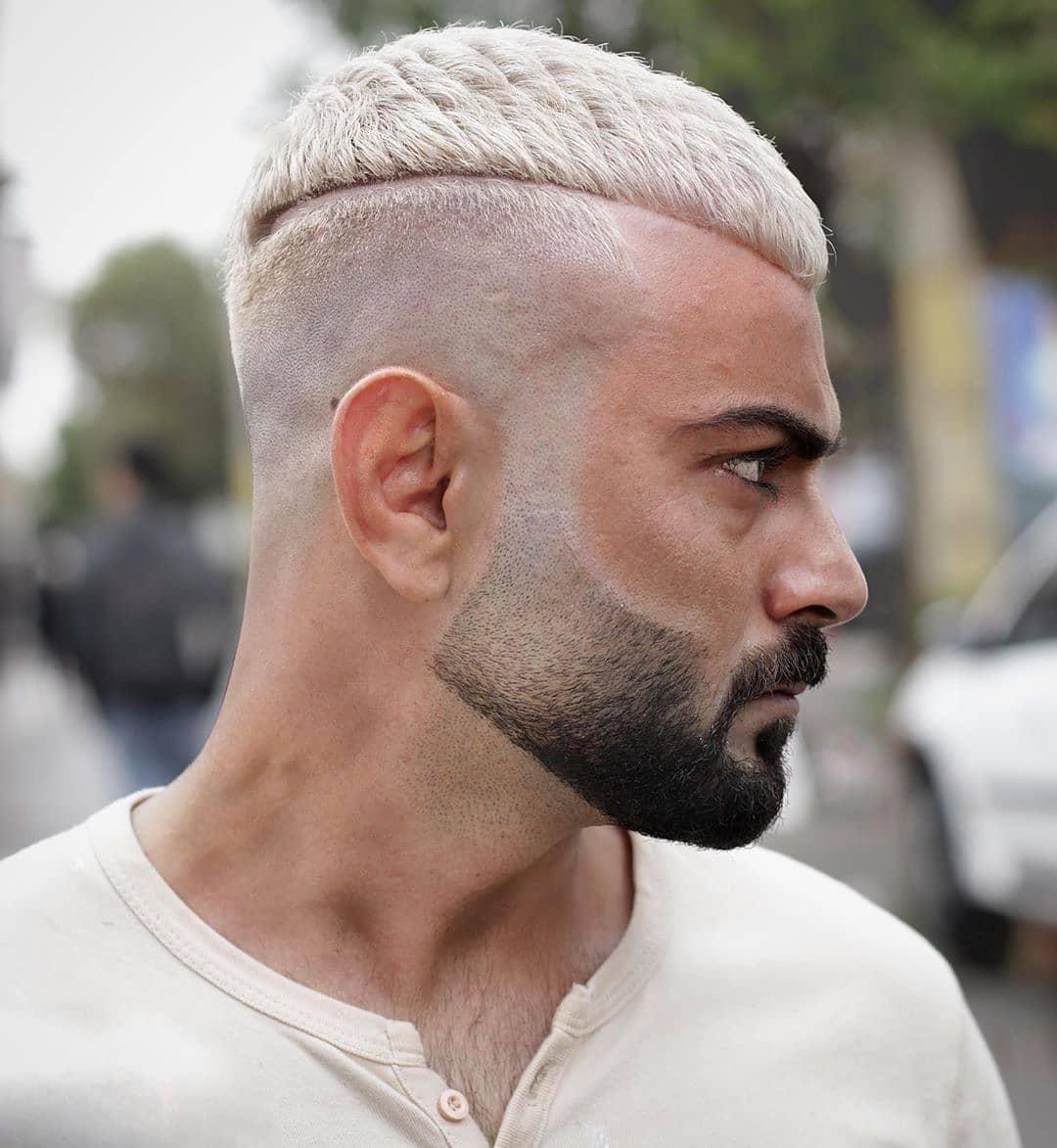 kurzhaar frisuren männer mit bart