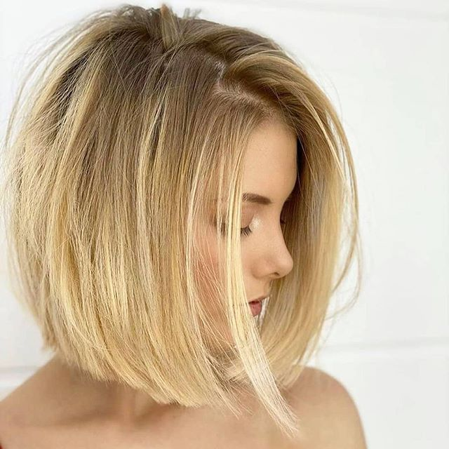 longbob frisuren blond